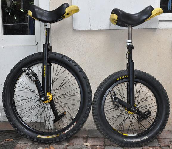 Monocycles Qu-ax 20 et 24 pouces-1
